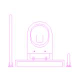 WC para deficientes dwg