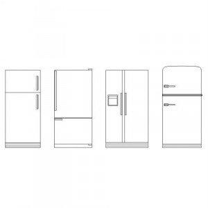 Refrigerators elevation