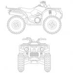 Quad, moto