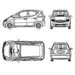 Mercedes Class A – carro