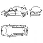 Renault Megane Scenic - carro