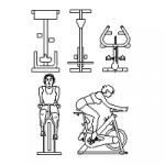 Spin Bikes, spinning bike